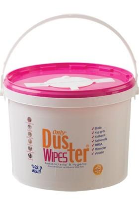 Only Duster Wipes Hijyenik Islak Bez Antibakteriyel Dezenfektan 450 Adet