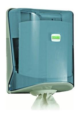 Vialli İçten Çekmeli Kağıt Havlu Dispenseri Şeffaf