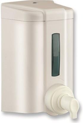 Vialli Köpük Sabun Dispenseri Hazneli 1000 ml Beyaz F4