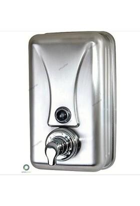 Arı Metal Köpük Sabun Makinesi Doldurmalı Mat Krom Paslanmaz 1 Lt