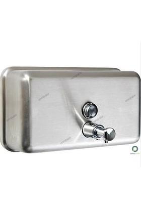 Arı Metal Sıvı Sabun Aparatı Yatay 304 Paslanmaz