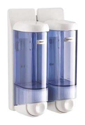 Arı Metal Sıvı Sabunluk Ve Şampuan Verici Şeffaf 2 Li 0.250 Ml