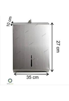 Arı Metal Z Katlama Kağıt Havluluk 400'Lü Paslanmaz Çelik 430 Kalite