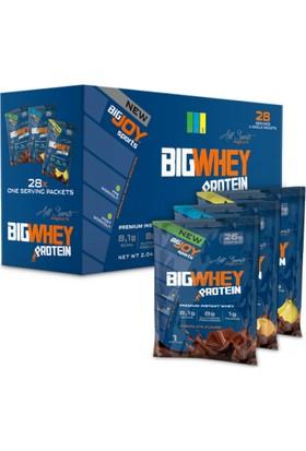Bigwhey Mix (Çikolata,MuzÇikolata,ProtakalÇikolata) 33X28adet(924g)