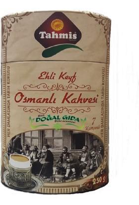 Tahmis Dibek Kahvesi Kakule Damla Sakızı Menengiç Karışımlı Ehlikeyf Türk Kahvesi 250 gr