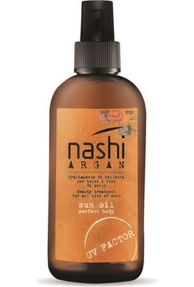 Nashi Argan Sun Spf 15 Güneş Yağı 125Ml