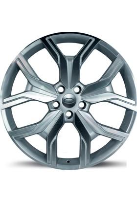 "EMR 1266 22"" Range Rover Sport ve Vogue Uyumlu 10.0 Offset 5x120 ET 45 Silver Machined Jant"