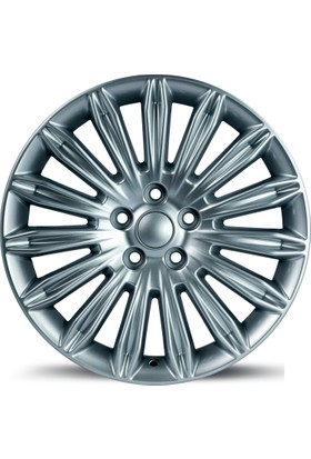 "EMR 1309 18"" Ford Mondeo Uyumlu 8.0 Offset 5x108 ET 55 Silver Jant"