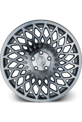 "ARCEO L965 18"" Opel - Chevrolet 9.5 Offset 5x105 ET35 Silver Machined Jant"