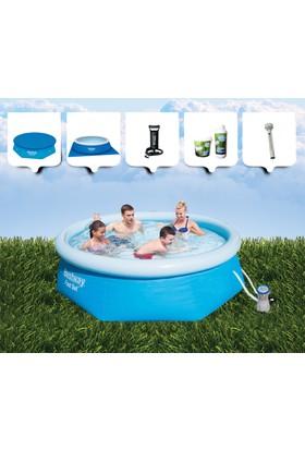 Bestway şişme Aile Havuzu ( 244 Cm X 66 Cm ) Bw 185
