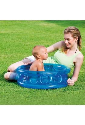 Bestway şişme Bebek Havuzu Şeffaf Mavi 64Cm X 25Cm 51112