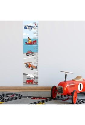 DekorLoft Araçlar Boy Ölçer Sticker DBC016
