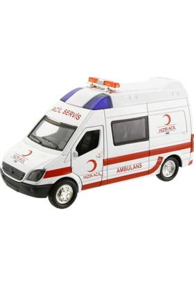 Işıklı Metal Çekbırak Ambulans