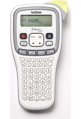 Brother P-Touch Pt-H105 6 - 12Mm Baskı Tze Serisi Etiket El Tipi