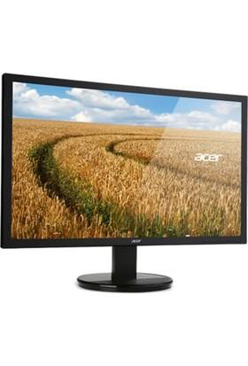 21.5 Acer K222Hqlbd Led 5Ms Sıyah Monitör D-Sub Dvı Vesa