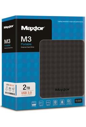 Maxtor 2.5 2Tb Usb3.0 Siyah Stshx-M201Tcbm