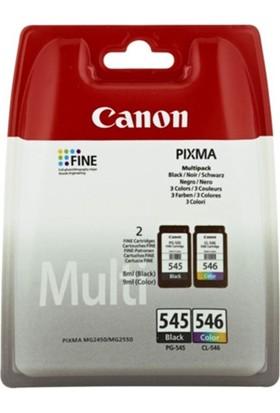 Canon Pg545+546 Mürekkep Kartuş Set (545+546)