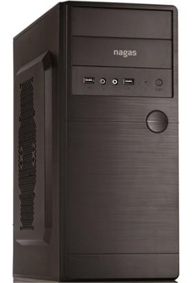 Nagas A202 200W Atx Kasa/Siyah