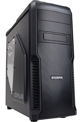 Zalman Z3 Plus Mid Tower Kasa/Siyah