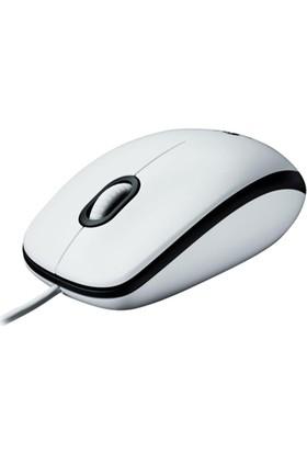 Logitech M100 Mouse / Beyaz 910-001603