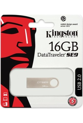 Kingston 16 Gb Usb 2.0 Memory Dtse9H/16Gb