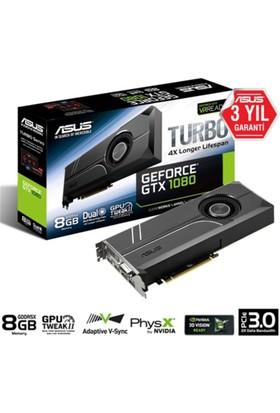 Asus Vga Turbo-Gtx1080-8G Gaming 8Gb 256B Gddr5X