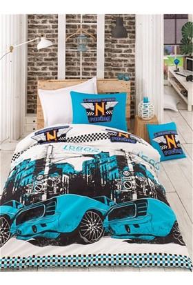 Baysal Tek Kişilik Uyku Seti Bolide Mavi
