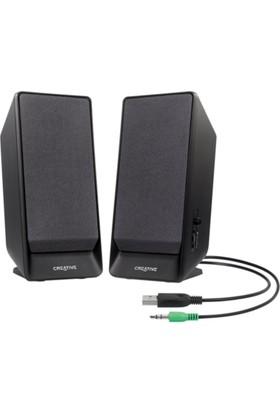 Creative A50 1+1 Speaker Siyah 2W Usb