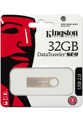 Kingston 32Gb Usb 2.0 Memory Dtse9H/32Gb