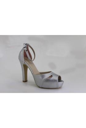 Despina Vandi Tnc 327-1 Günlük Kadın Topuklu Abiye Sandalet