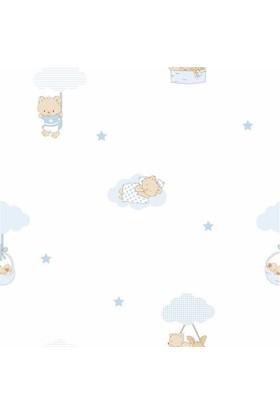 Dekonil Milky Baby Bebek Çocuk Odası Duvar Kağıdı 400-2