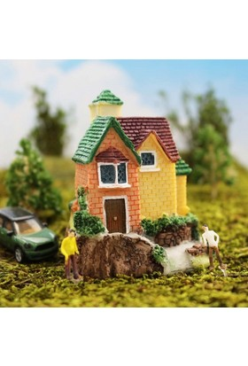 Greenmall Terraryum İçin Maket Mini Ev - 20