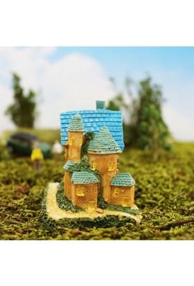Greenmall Terraryum ve Mini Bahçeler İçin Maket Mini Ev - 25