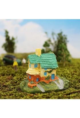 Greenmall Terraryum ve Mini Bahçeler İçin Maket Mini Ev - 26