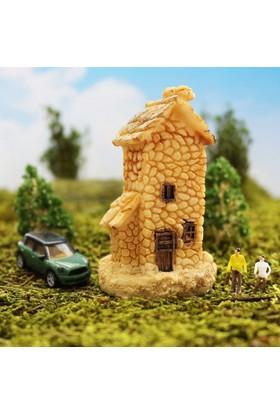 Greenmall Terraryum ve Mini Bahçeler İçin Maket Mini Ev - 39