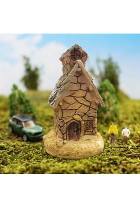 Greenmall Terraryum ve Mini Bahçeler İçin Maket Mini Ev - 41