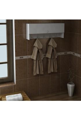 Dekorea Manolya Banyo Dolabı Askısı