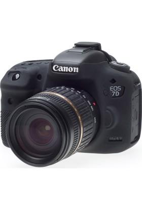Canon 7D mark II Siyah EasyCover (Silikon Kılıf)