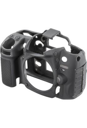 Nikon D7100/D7200 Siyah EasyCover (Silikon Kılıf)