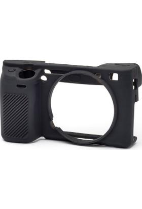 Sony A6300 Siyah EasyCover (Silikon Kılıf)