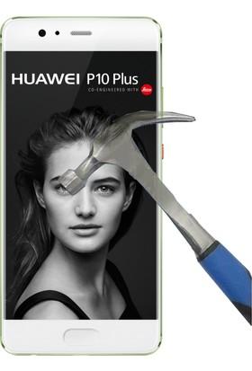 Teleplus Huawei P10 Plus Plastik Ve Cam Ekran Koruyucu Karışımı Nano Cam Ekran Koruyucu