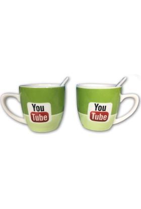 YTPazar YouTube 2'li Bardak