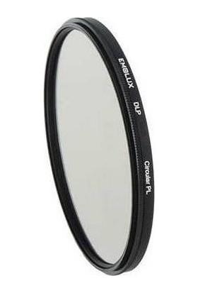 Emolux 49mm DLP Circular Polarize Filtre + Temizlik Kiti
