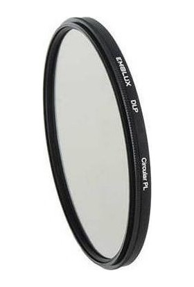 Emolux 52mm DLP Circular Polarize Filtre + Temizlik Kiti