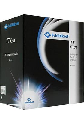 Donic 628395 Schildkröt TT Club 120 li Antrenman Topu Turuncu