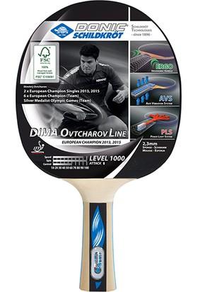 Donic Dima Ovtcharov Line 1000 ITTF Onaylı Masa Tenisi Raketi Dvd Hediye