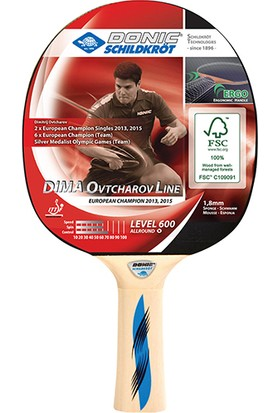 Donic Dima Ovtcharov Line 600 ITTF Onaylı Masa Tenisi Raketi Dvd Hediye