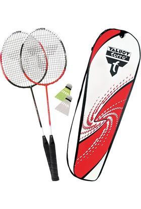 Talbot Torro 2-Combat 2 Raket 2 Top Grafit Badminton Raket Seti