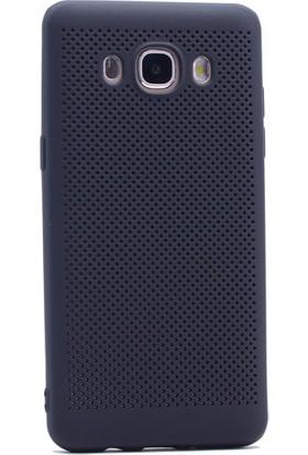 KNY Samsung Galaxy J2 Prime Kılıf Delikli İnce Felix Silikon+Cam