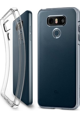 Microcase LG G6 Ultra İnce Silikon Kılıf+Tempered Glass Cam Koruma